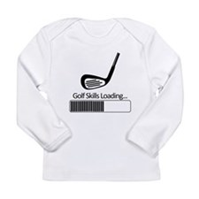 Golf Skills Loading Long Sleeve T-Shirt