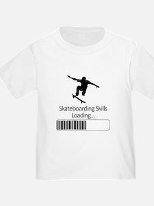 Skateboarding Skills Loading T-Shirt