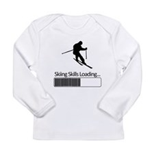 Skiing Skills Loading Long Sleeve T-Shirt