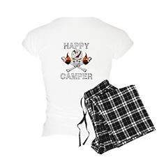 Happy Camper-Skull-White-1 Pajamas