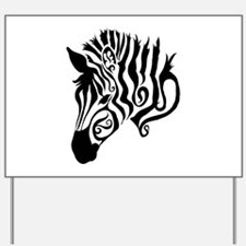 ZEBRA!! Yard Sign