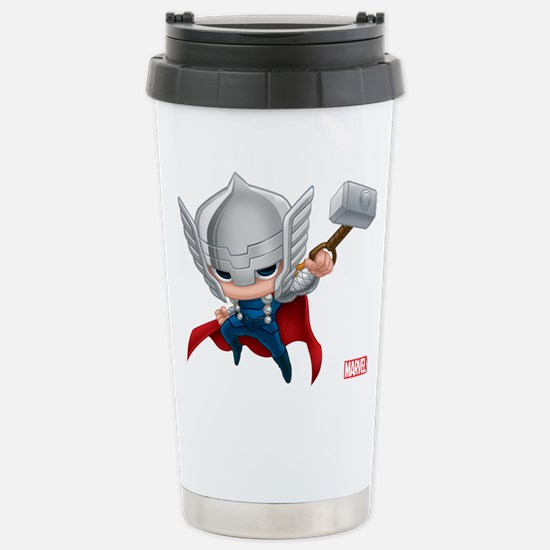 Thor Stylized 2 Stainless Steel Travel Mug