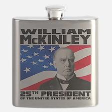 25 McKinley Flask
