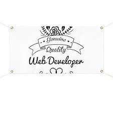 Genuine Quality Web Developer Banner