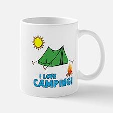I Love Camping-3-Blue Mugs