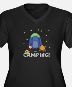 Its the weekend-lets go camping-2 Plus Size T-Shir