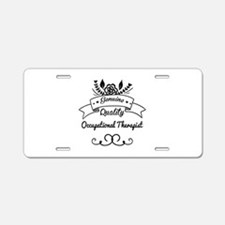 Genuine Quality Occupationa Aluminum License Plate