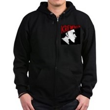 Unique Head logo Zip Hoodie