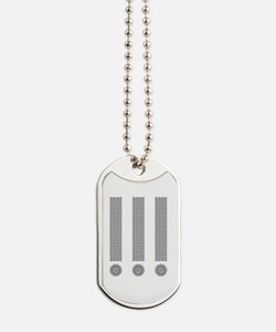 Exclamation Point Dog Tags