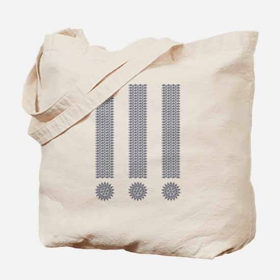 Exclamation Point Tote Bag