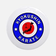Kyokushin Round Ornament