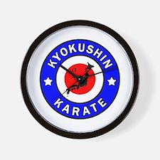 Kyokushin Wall Clock