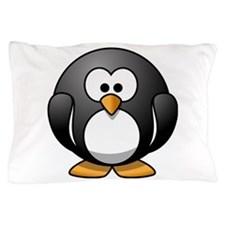 Cartoon Penguin Pillow Case