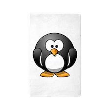 Cartoon Penguin Area Rug