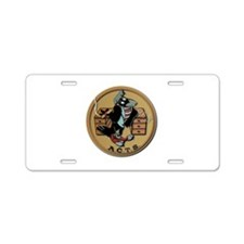 WW2 USAAF Squadron Patch AC Aluminum License Plate