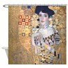 Klimt Lady In Gold Art Deco Shower Curtain