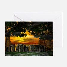 Mystic Stonehenge - Greeting Card