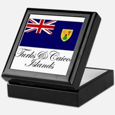 The Turks and Caicos Islands Keepsake Box