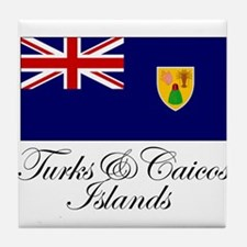 The Turks and Caicos Islands Tile Coaster