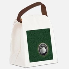 Golf Cup and Ball Canvas Lunch Bag