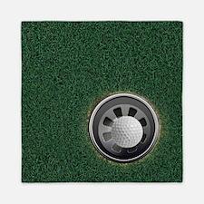 Golf Cup and Ball Queen Duvet