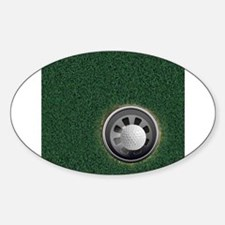 Golf Cup and Ball Decal