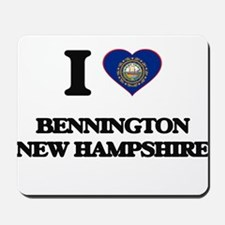 I love Bennington New Hampshire Mousepad