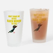 Black Widow Mother's Day Drinking Glass