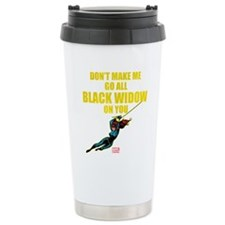 Black Widow Mother's Da Travel Mug