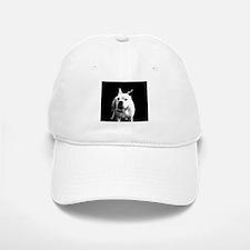 White Boxer Dog Baseball Baseball Cap
