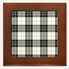 Tartan-MacPherson dress Framed Tile