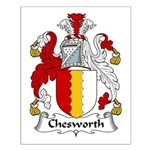 Chesworth Family Crest Small Poster