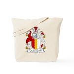 Chesworth Family Crest Tote Bag