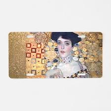 Klimt The Lady In Gold Art Aluminum License Plate