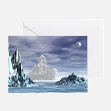 Ice Castle - Greeting Card