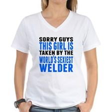 Taken By The Worlds Sexiest Welder T-Shirt