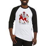 Chaucer Family Crest Baseball Jersey