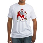 Chaucer Family Crest Fitted T-Shirt