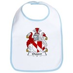 Chaucer Family Crest Bib