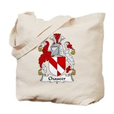 Chaucer Family Crest Tote Bag