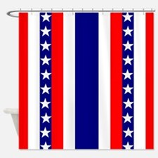 July Fourth Shower Curtain