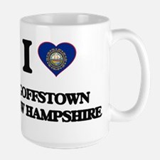 I love Goffstown New Hampshire Mugs