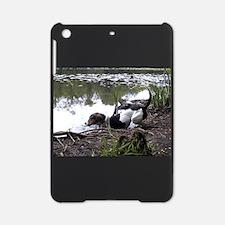treeing walker coonhound in water iPad Mini Case
