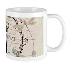 Peacock and spring flowers Mugs