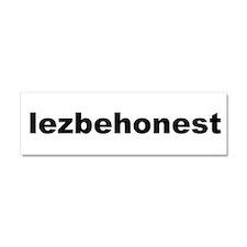 Pitch Perfect Lezbehonest Car Magnet 10 x 3