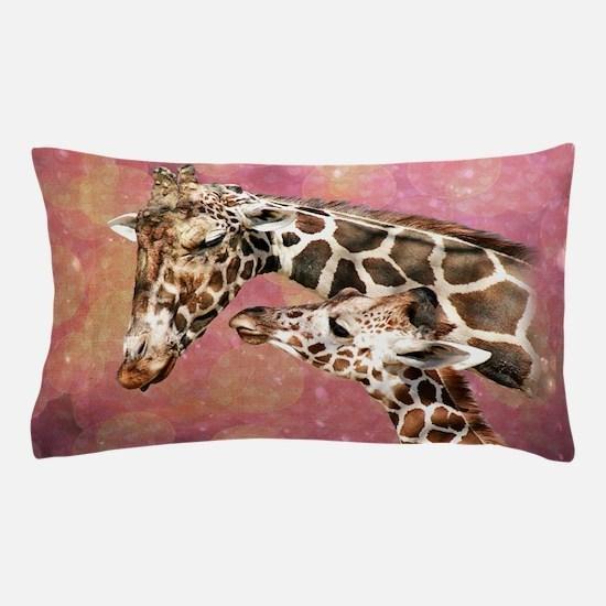 Cute Giraffe Pillow Case