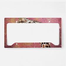 Cute Giraffe License Plate Holder