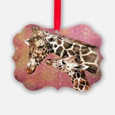 Funny Giraffe Ornament