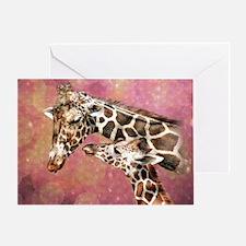 Cool Giraffe Greeting Card