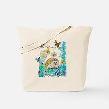 Hedgehog Queen Tote Bag